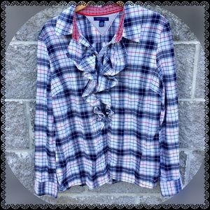 Women's Tommy Hilfiger long sleeved button up